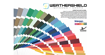 Weathershield windows and doors nz - options - colour